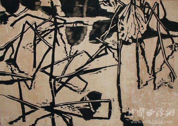 黑白无香—郑作良艺术展